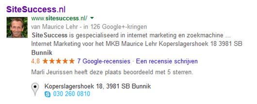 Recensies SiteSuccess.nl